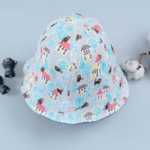 雙面漁夫帽-訂製  動物12-紗