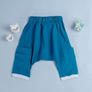 飛鼠褲-訂製 棉麻30