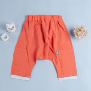飛鼠褲-訂製 棉麻29