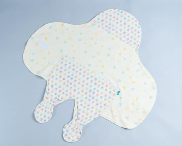 滑翔翼包巾-訂製 動物11-紗vs黃色熊熊