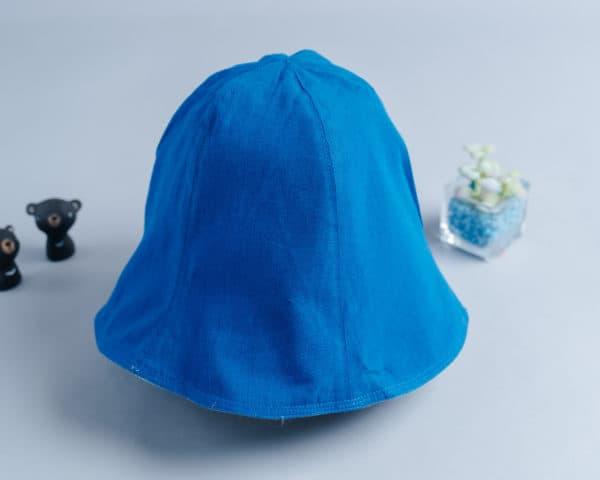雙面漁夫帽-訂製  棉麻12