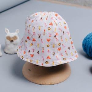 雙面漁夫帽-訂製  動物13-紗