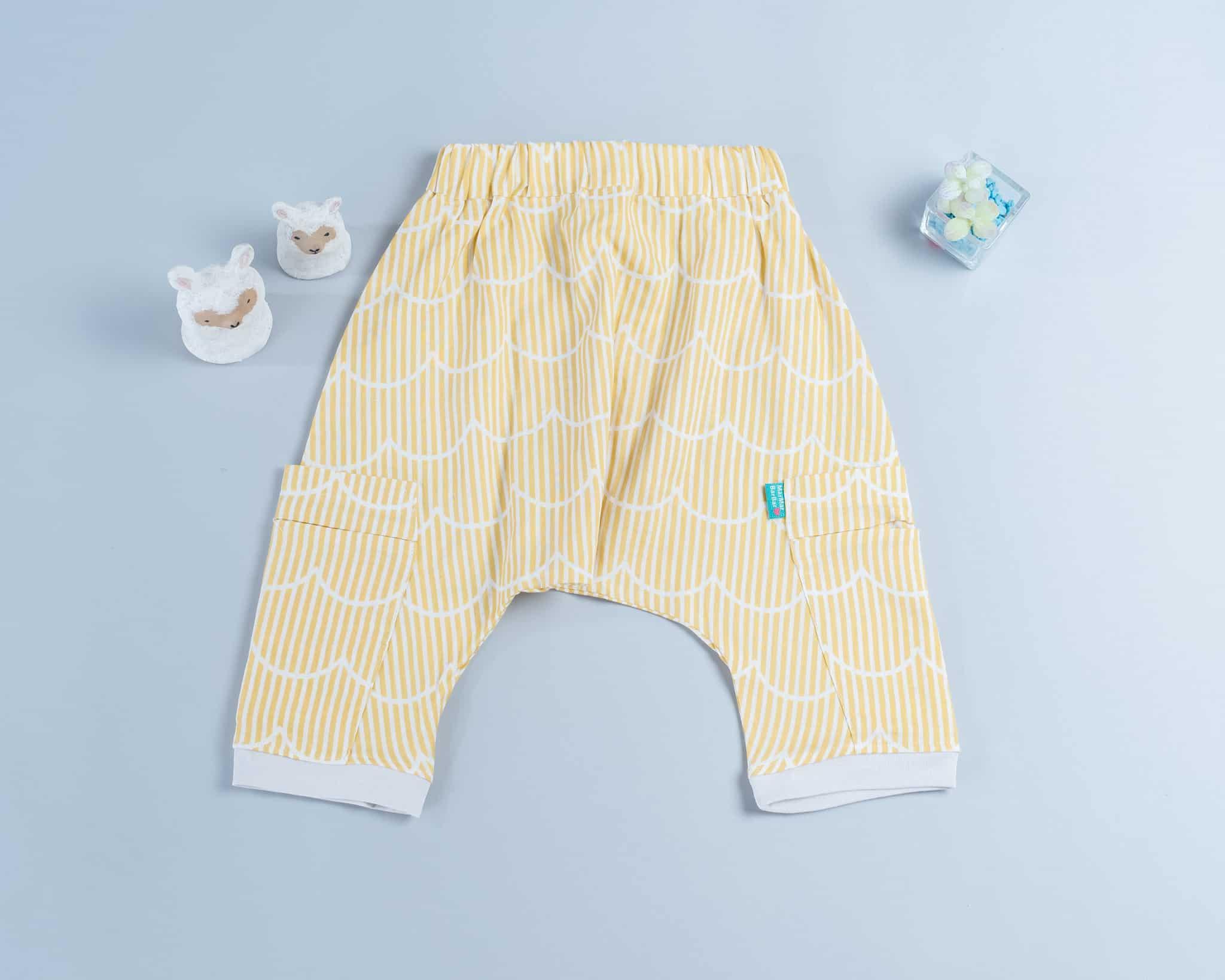 飛鼠褲-訂製 幾何22-紗