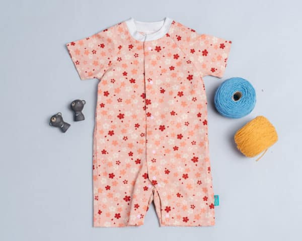 包屁連身衣(短袖)-訂製 和風13