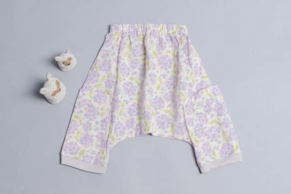 飛鼠褲-訂製 花11-紗