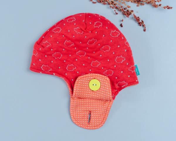 遮耳飛行帽(毛料)-訂製 高厚2vs中薄14