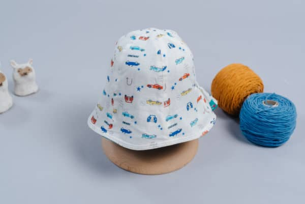 """雙面漁夫帽-""""現貨""""(45-47) 交通3-紗"""