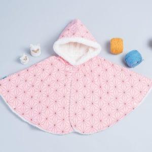 毛料斗篷-現貨 110-120 和風7vs雪花毛