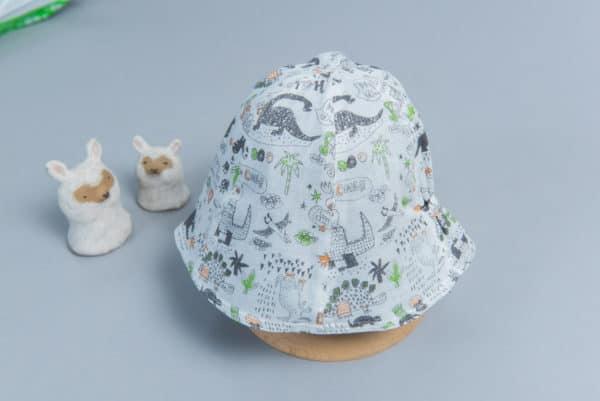 """雙面漁夫帽-""""現貨"""" 45-47cm 自然5-紗"""